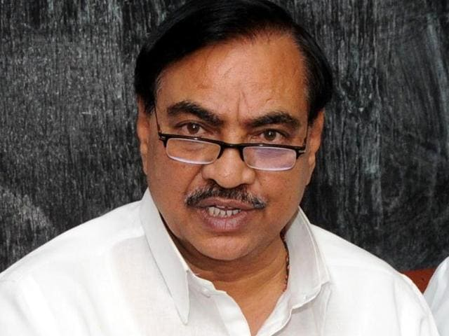 Eknath Khadse resigned from the Maharashtra cabinate after facing a string of allegations including irregularities in a land deal.