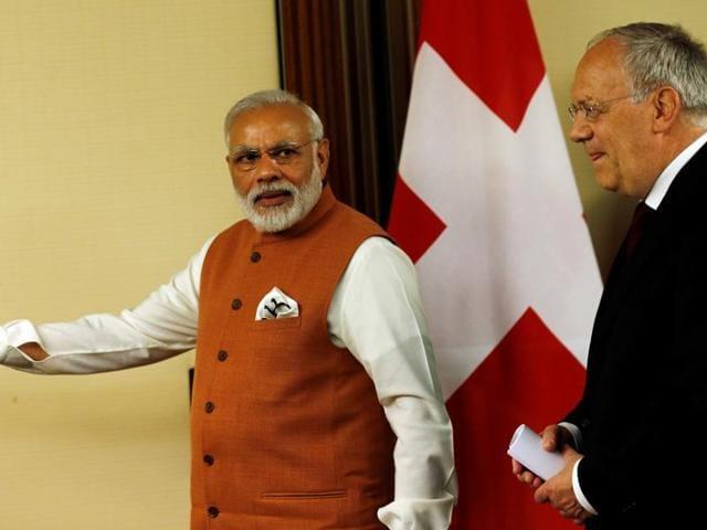 Modi in Switzerland