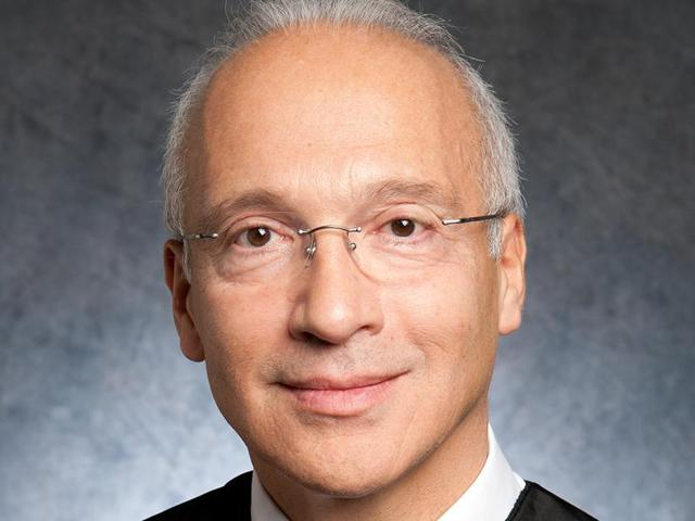 This undated handout photo shows Judge Gonzalo Curiel of the US District Court for the Southern District of California.  USRepublican presidential nominee Donald Trump has questioned Curiel's 'impartiality' towards him.