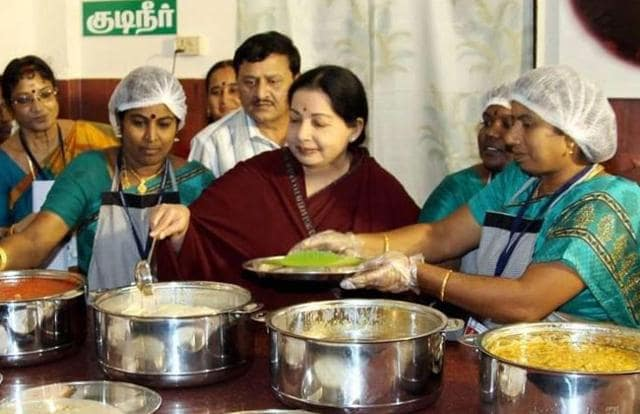 The Andhra Pradesh government on Saturday launched the Anna NTR Canteen, a populist scheme aimed at providing subsidised meal to daily wage workers, small-time employees and poor people in the state, following the roaring success of Amma Unavagam (mother restaurant) scheme of Tamil Nadu.