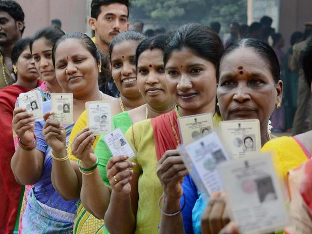 File photo of people waiting in a queue to cast their votes for Tamil Nadu Assembly polls in Chennai  in May, 2016.