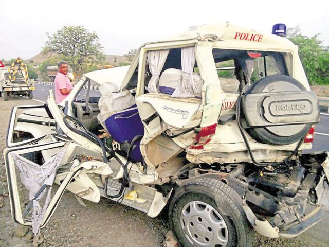 Udaipur,accident,Deputy SP