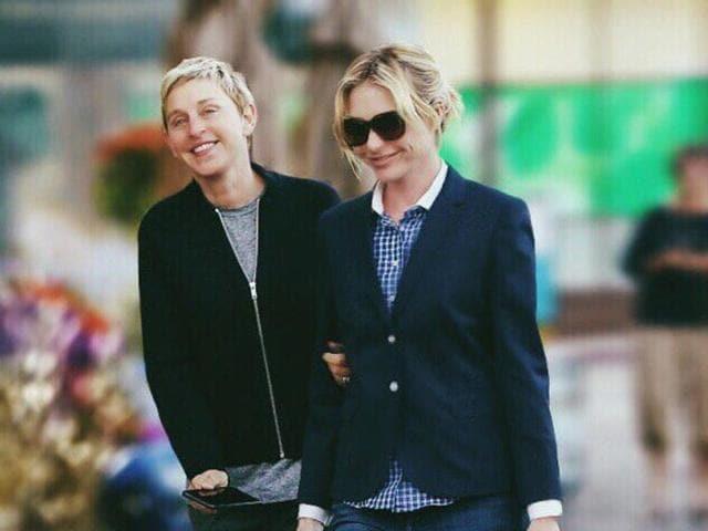 Ellen DeGeneres,Portia DeRossi,Baby