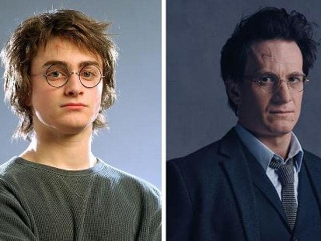 Like many of his fans, Potter has now grown up and has three children with his wife Ginny Weasley, the sister of his friend Ron, and is working at the Ministry of Magic. He still has his trademark round-rimmed glasses and the scar on his head, a permanent reminder of his nemesis Lord Voldemort.