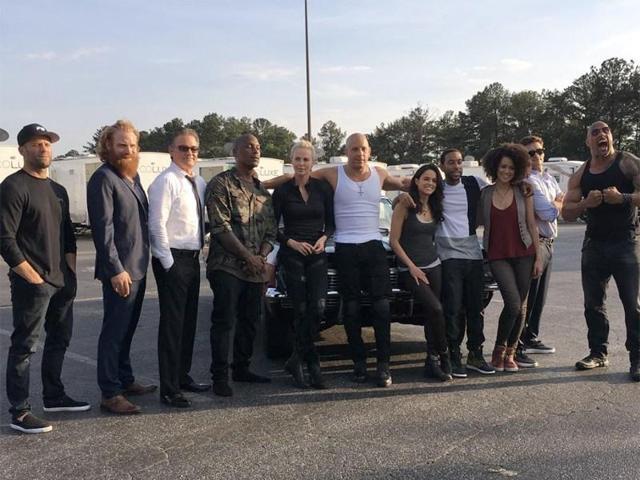 Fast Furious 8,Fast Furious 8 Cast,Vin Diesel