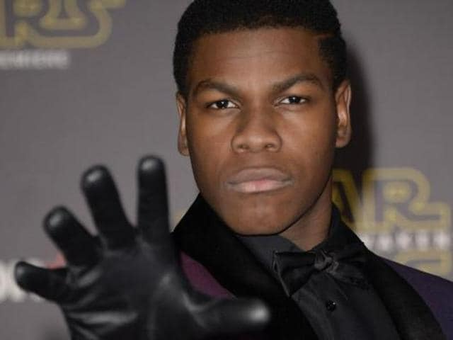 John Boyega plays Finn in the Star Wars sequels.