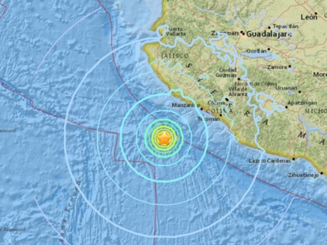 earthquake,Mexico,Mexico's Pacific coast