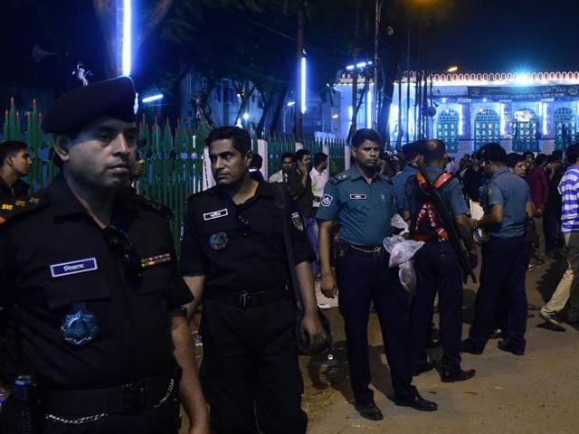 Three suspected Islamists were killed in gunbattles with Bangladesh police following the launch of a massive crackdown on extremists.