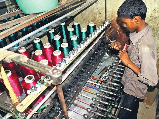 Child labour rescued
