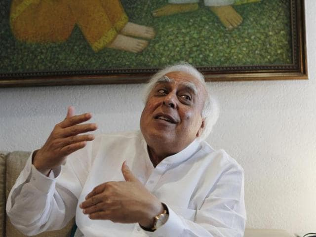 Kapil Sibal, who is a trained lawyer, recently penned the lyrics for a political-thriller that stars Jimmy Sheirgill and Ashutosh Rana.