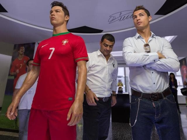"""The museum's new two-storey site """"will be able to welcome Ronaldo's future trophies,"""" his cousin and museum director Nuno Viveiros said."""