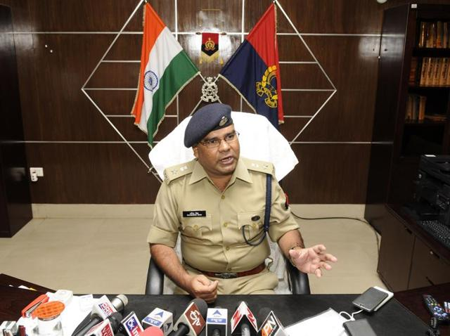 Operation Vajrapat was launched by newly appointed senior superintendent of police Dharmender Yadav (left) on June 3 to check crime in Noida.