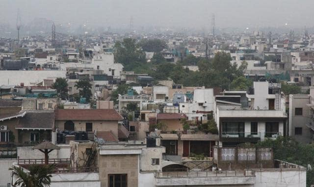 The area where once Yamuna flowed and villagers brought animals to graze is now densely populated with builder flats and nearby villages pushing boundaries.