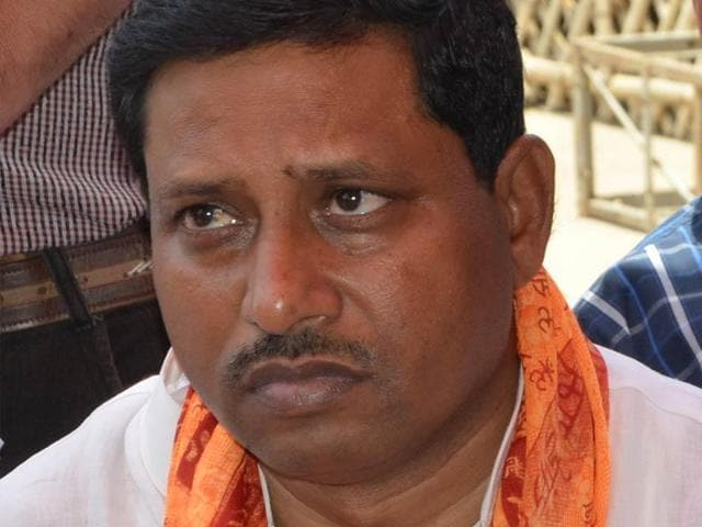 Union minister of state for HRD Ram Shankar Katheria. (HT Photo)