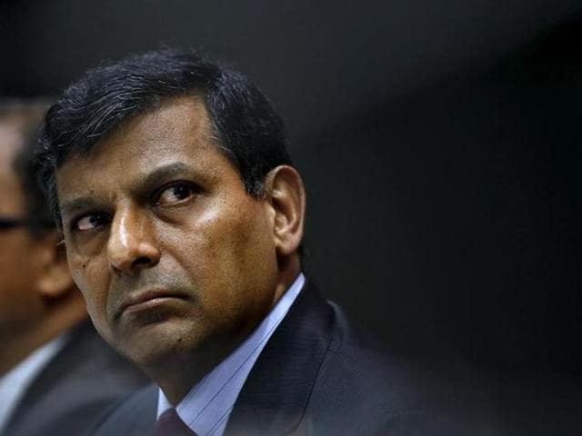 Reserve Bank of India (RBI) governor Raghuram Rajan attends a news conference in Mumbai.