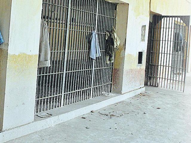 Cell phone inside jail