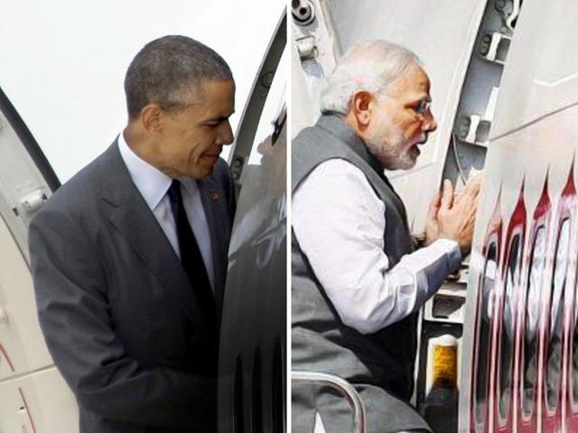 While PM Narendra Modi visited 35 nations in the first two years, US President Obama only visited 25 countries.