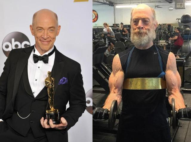 JK Simmons,JK Simmons Justice League,JK Simmons Commissioner Gordon