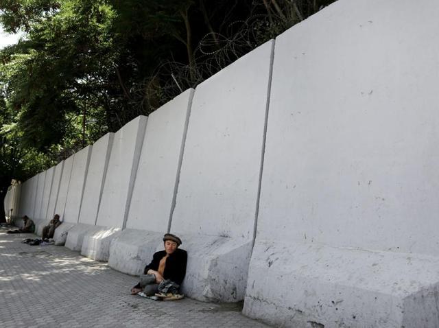 Kabul,Blast walls,Terrorist attack
