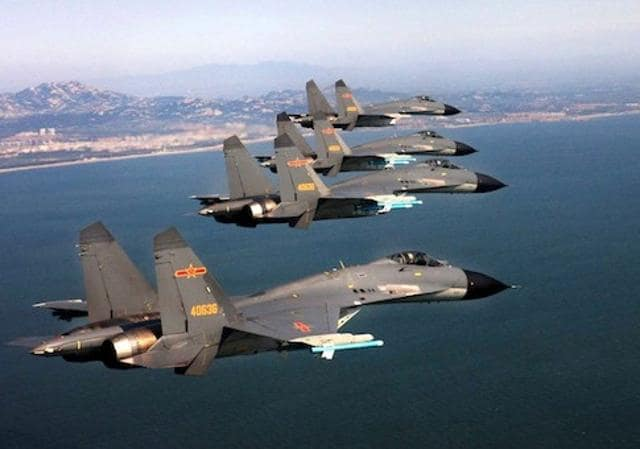 The intercept involved two Chinese J-10 fighter planes and a US Air Force RC-135 reconnaissance plane, US Pacific Command said.