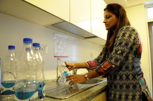Shailee Shah and her family of four have quenched the thirst of thousands by distributing over 3,500 water bottles in the last two months.