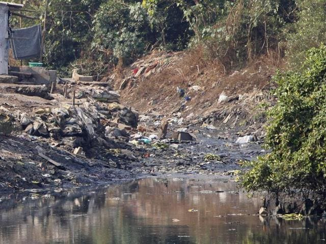 The primary reason for Mithi River overflowing every time the city witnesses a downpour is the silt and trash that is thrown in it, which obstructs the flow of water.