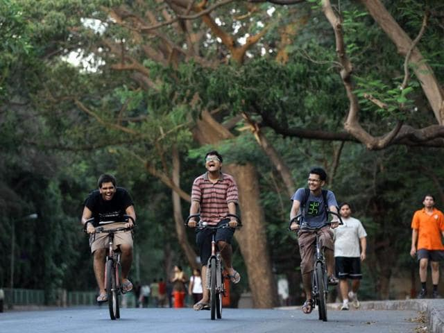 IIT Bombay is fun as there's lots to do for everybody.