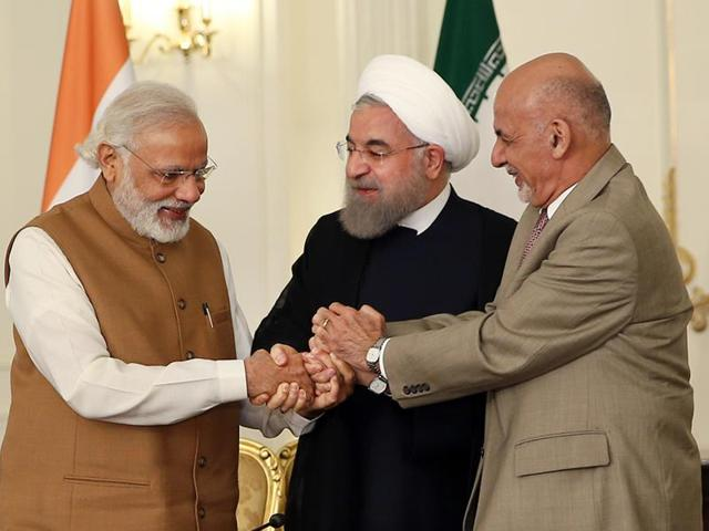 The Salma Hydroelectric Dam in western Herat district close to the Iran border, is one of two large projects carried out under India's development partnership with Afghanistan, worth more than $2 billion.