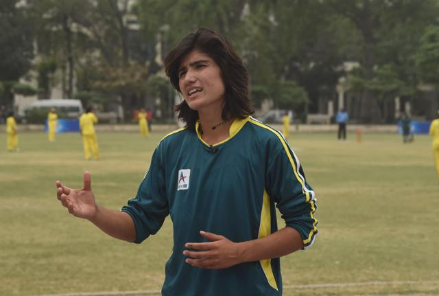 Diana Baig plays for Pakistan's national team in both cricket and football.