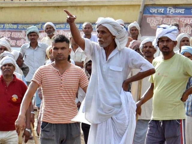Ramvriksha Yadav led encroachers to occupy Jawahar Bagh in Mathura for two years. Yadav was killed during the clashes that broke out with police on June 2 when attempts were made to evict them.