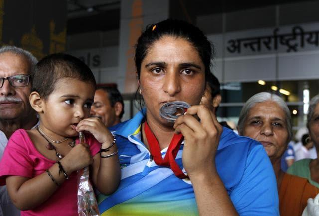 Seema Punia,Inderjit Singh,Athletics