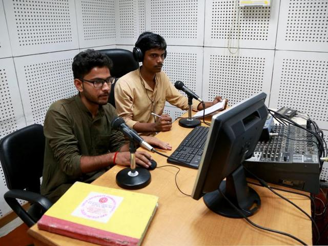 The shows, DU Ki Hulchul and Admission Express, are aired on 90.4MHz for half an hour daily at 10:30am and 2pm respectively.