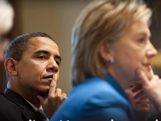 USPresident Barack Obama formally declared his support to presumptive Democrat nominee Hillary Clinton in the US elections.