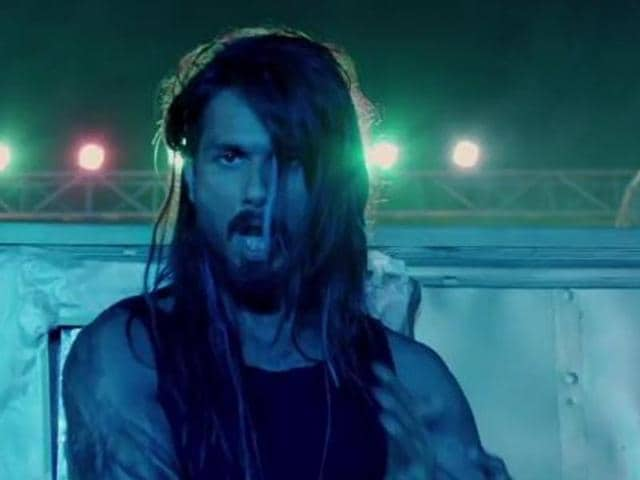 Shahid Kapoor in a still from Udta Punjab.