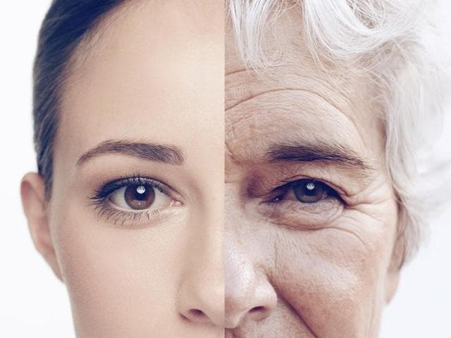 While chronological age is the actual amount of time the person has been alive, biological age is determined by various factors such as lifestyle, genetics, exercise, sleep habits and so on.