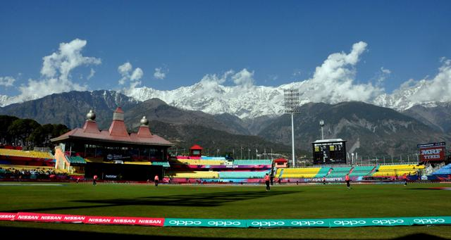 Dharamsala's picturesque cricket stadium will stage its first Test when India face Australia in their second Test in February-March.
