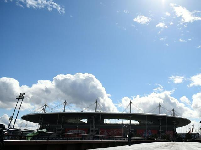 A general view of the Stade de France in Saint-Denis, north of Paris.