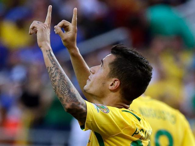Prior to his hat-trick against Haiti, Coutinho had only scored once for Brazil.