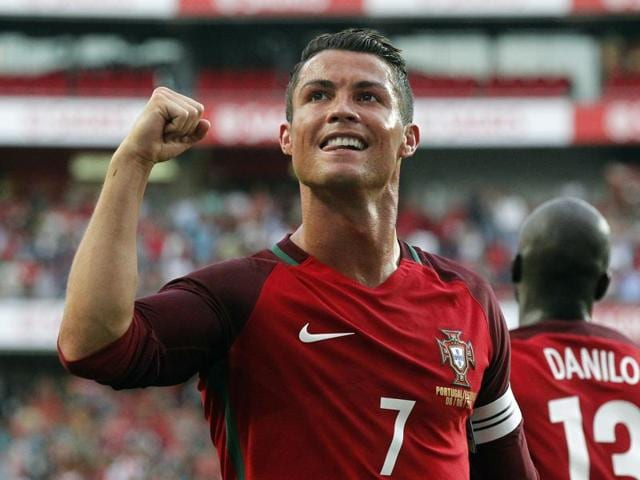 Ronaldo found the back of the net twice in nine minutes.
