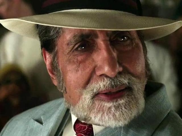 Big B's recent movie, TE3N, released this Friday and we loved him so much.