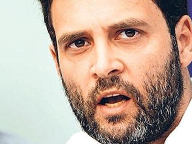 Congress vice-president Rahul Gandhi will be leading the party's dharna to be staged in Jalandhar on June 13.