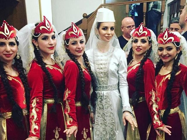 Is this the most extravagant wedding ever? Russian billionaire spends $2million on his son's lavish nuptials - where the bride (pictured above) wore three couture dresses and $200,000 worth of Tiffany jewellery.