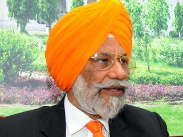 Punjab higher education minister Surjit Singh Rakhra