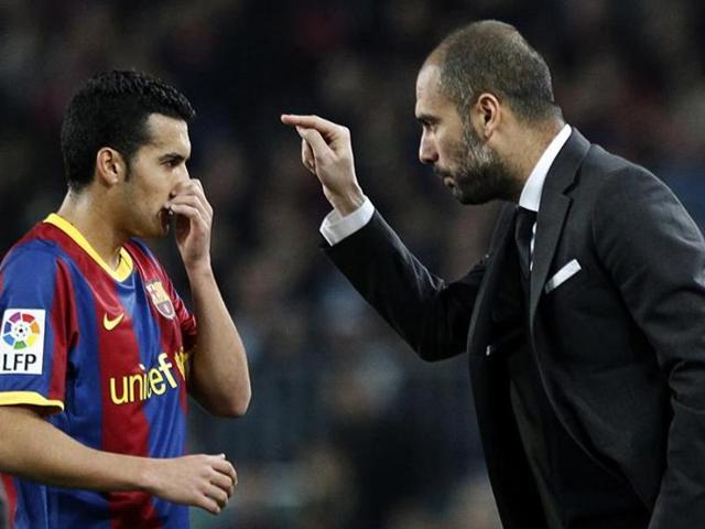Pep Guardiola,Pedro,Manchester City