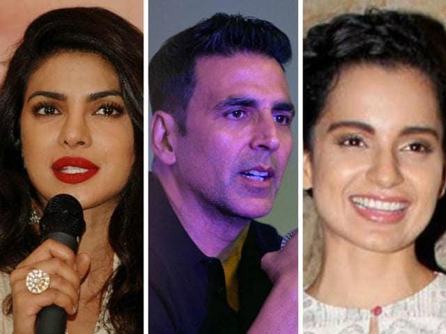 Priyanka Chopra, Akshay Kunar and Kangana Ranaut have spoken on the Udta Punjab row.