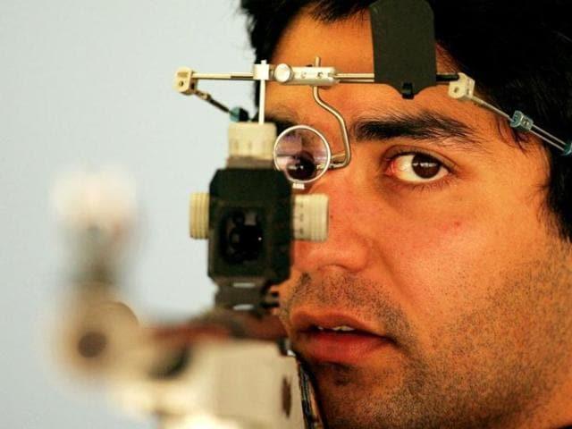 A file photo of Indian ace shooter Abhinav Bindra.