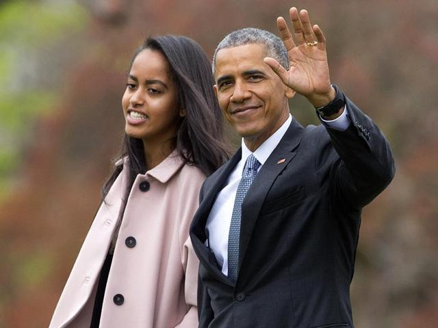 Malia Obama,Barack Obama,Malia Obama high shcool graduation