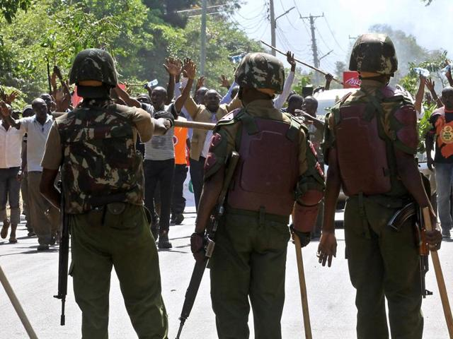 A national commission in Kenya has announced it has fired 302 police officers who refused to be vetted as part of reforms of the police force.