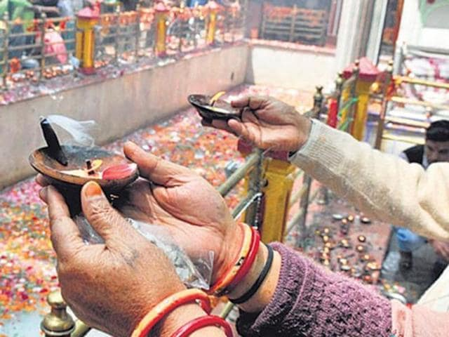 Amid a debate over their return to Kashmir, Pandits from across the state and outside will converge at the temple of Kheer Bhawani representing Hindu goddess Ragnya Devi in Tulmulla village of Ganderbal, 27 km from Srinagar.