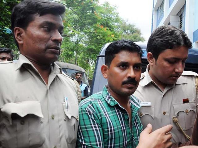 T Rajkumar Rao, the alleged kingpin in the kidney trade racket  being run at Apollo Hospital.